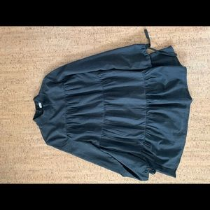 NEED SUPPLY CO LONG SLEEVE BABYDOLL DRESS